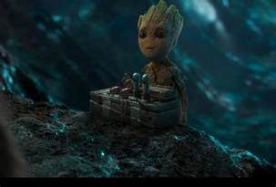 Gardenia Of The Galaxy 2 Cast Baby Groot Takes Spotlight In New Guardians Of The Galaxy