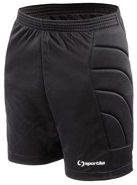 completi da portiere pantalone da portiere corto black sportika calcio