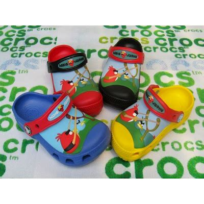 Sandal Crocs Nyala Angry Birds crocs simpel supel elegan
