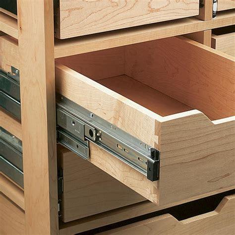 knape vogt 20 quot heavy duty bearing overtravel drawer