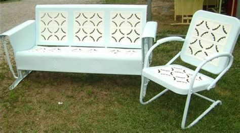 Retro Patio Furniture Sets Vintage Metal Retro Lawn Chairs Retro Lawn Chairs Shell Back Babytimeexpo Furniture