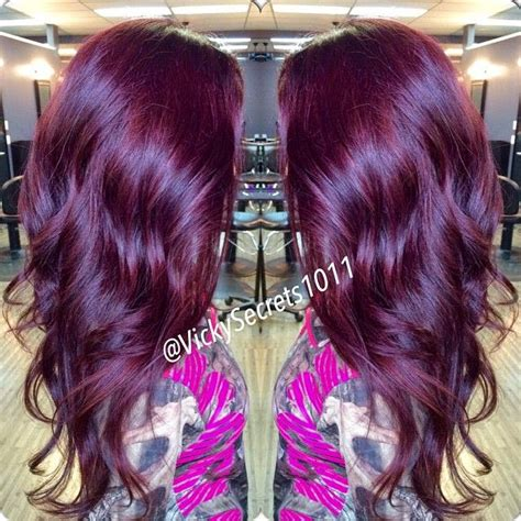 purple burgundy hair color dsk steph diy hair color burgundy plum of hair color