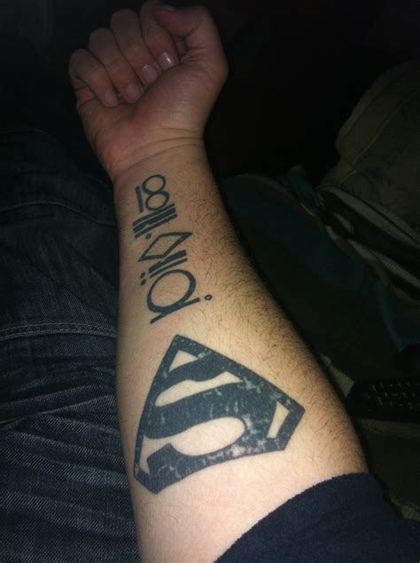 my kryptonian ink tats pinterest
