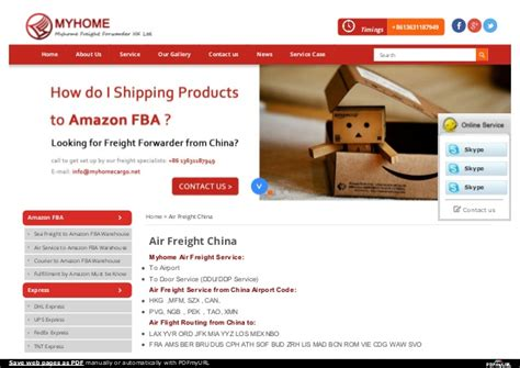 air freight china  cost air freight forwarding services