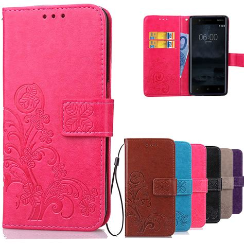 Casing Nokia N101 2 for nokia 3 luxury wallet leather cover flip wallet for nokia 3 cover 2017 phone