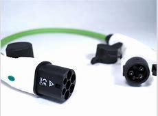 Ladekabel Adapter Type2 Kupplung - Type 1 Stecker 32A J1772 Type 2 Anschluss