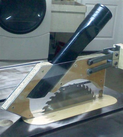 table saw dust collection guard table saw blades table saw and dust collection on