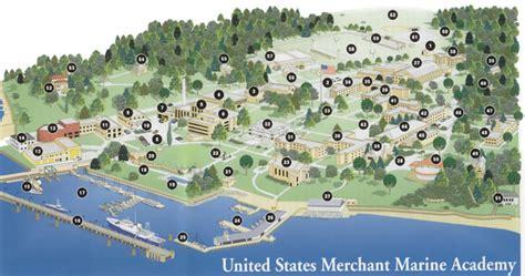 Campus Map   U.S. Merchant Marine Academy