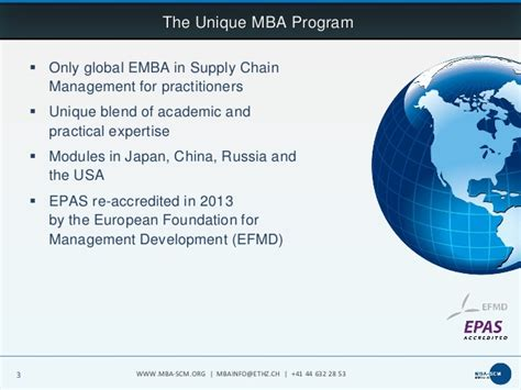 Mba In Zurich Part Time by Executive Mba In Supply Chain Management At Eth Zurich