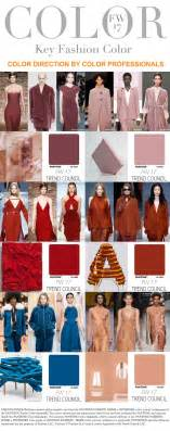 trend colors 2017 trends trend council colors fw 2017 fashion