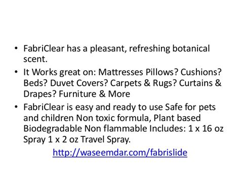 fabriclear bed bug spray reviews fabriclear review best bed bug spray