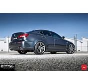 Lexus IS F Looks Underrated Even On Custom Wheels
