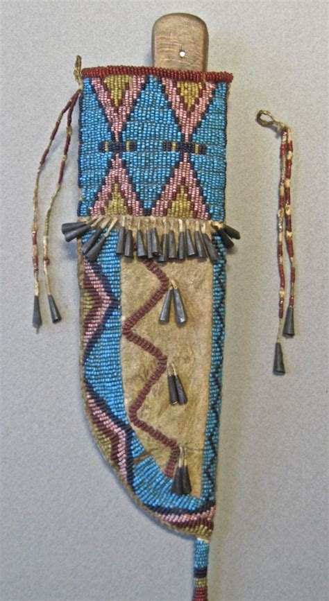 beadwork sioux pin by norm exton on cheyenne sioux knife