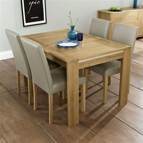 Oak Dining Suite Table Four 4 6 Seater Dining Table Keens Furniture
