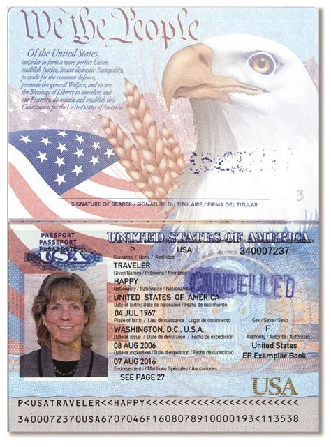 13 1 List A Documents That Establish Identity And Employment Authorization Uscis Us Passport Template