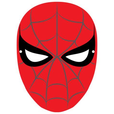 spiderman mask template  printable papercraft templates