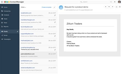 zoho contactmanager integrates with outlook zoho blogs
