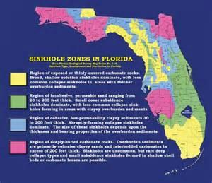 sinkhole risk map florida florida sinkhole zones