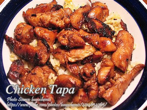 printable pinoy recipes chicken tapa panlasang pinoy meat recipes