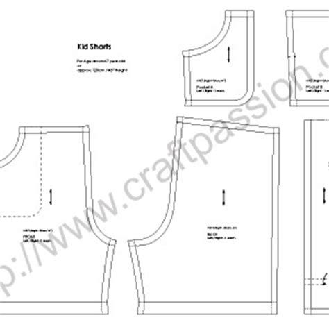 printable toddler shorts pattern kid shorts free sewing pattern tutorial short