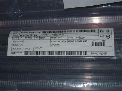 Pic18f4450 I Pt Micro Chip 超群电子 香港 有限公司