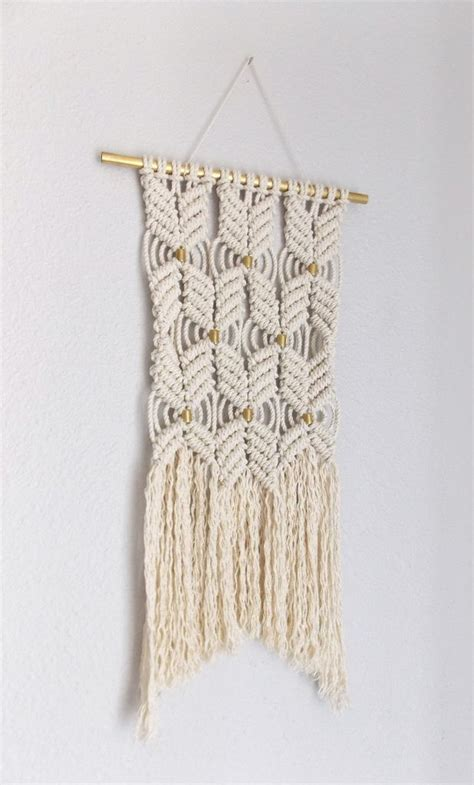 Modern Macrame - modern macrame rope quot hane no 4 quot himo by may