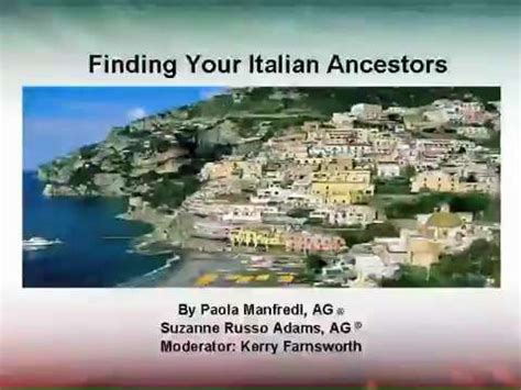 Family Search 53 Best Images About Origins Italy On