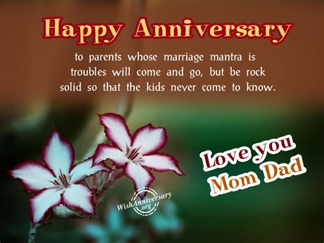 Wedding Anniversary Greetings For Parents by Anniversary Wishes For Parents Pictures Images Page 3