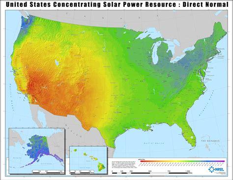 sun map usa solar maps geospatial data science nrel