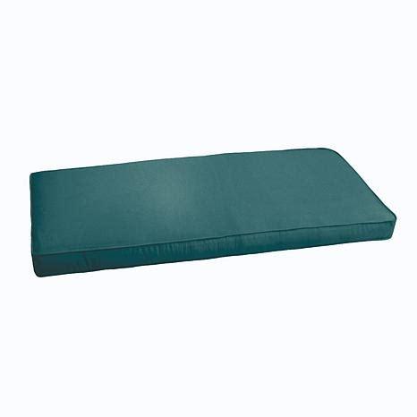 sunbrella bench cushion sunbrella bench cushion 60 quot x 19 quot x 3 quot 8140064 hsn