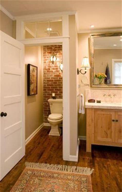 Washroom Closet by Cegła Na ścianie W łazience Gorący Trend Aranżujemy Pl