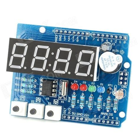 code arduino clock catales arduino expansion board clock shield wire digital