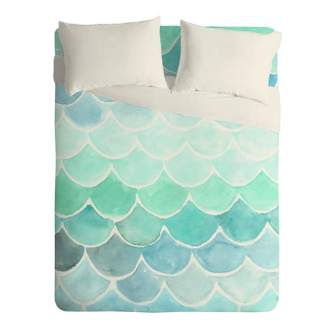Twin Xl Bed Sets Mermaid Scales Sheet Set Wonder Forest