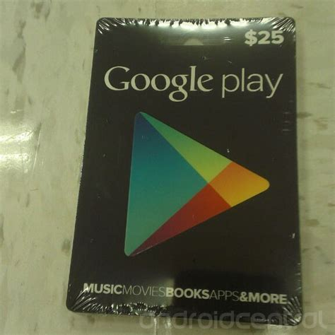 Google Play Music Gift Card - google play android store gift card attachment