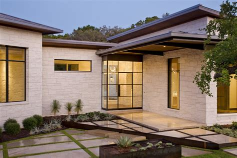 Blanco House Contemporary Entry Other Metro By