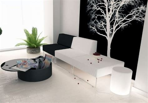Wallpaper Minimalis Hitam Putih | 3 ide interior ruang tamu minimalis hitam putih