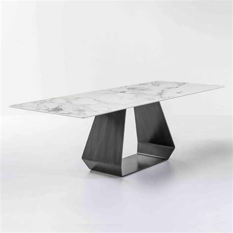 ceramic top dining room tables bonaldo amond ceramic top dining tables rectangular top