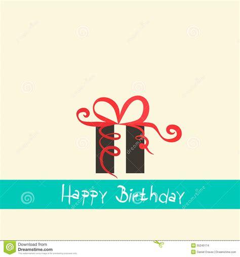happy birthday flat design flat design happy birthday stock vector illustration of