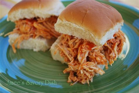 buffalo chicken buffalo chicken sandwiches crockpot recipe