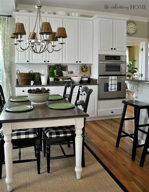 cottage style kitchen table cottage farmhouse style vignette in the kitchen