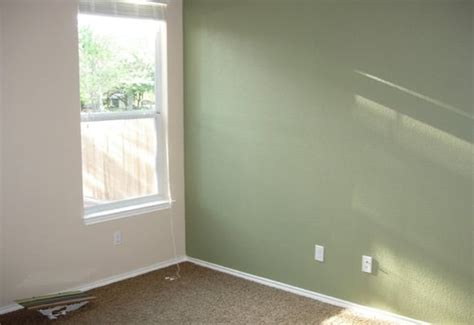 sage green accent wall quot clary sage quot accent wall in a guest bedroom yelp