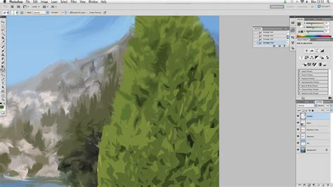 photoshop smudge brush painting tutorial how to turn a photo into a painting in photoshop part 2
