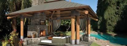 Backyard Bungalow Bungalow Outdoor Gazebo Structure Backyard Room Design