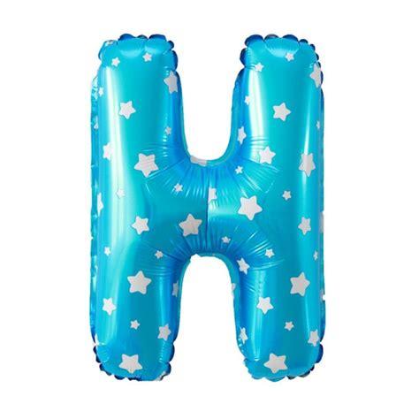 Balon Huruf I U 88805650 jual our huruf h biru balon harga