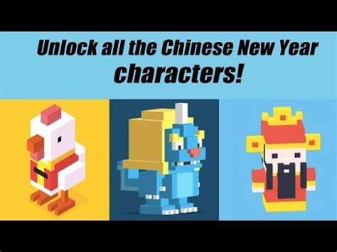 new year characters crossy road crossy road cai shen unlock how to get secret character