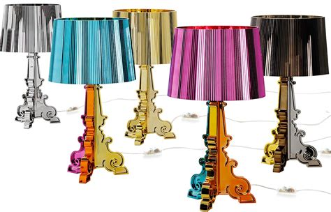 Silver Nightstand Lamps Bourgie 187