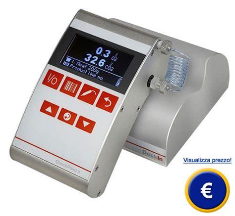 potere calorico degli alimenti analizzatore di gas checkpoint ii