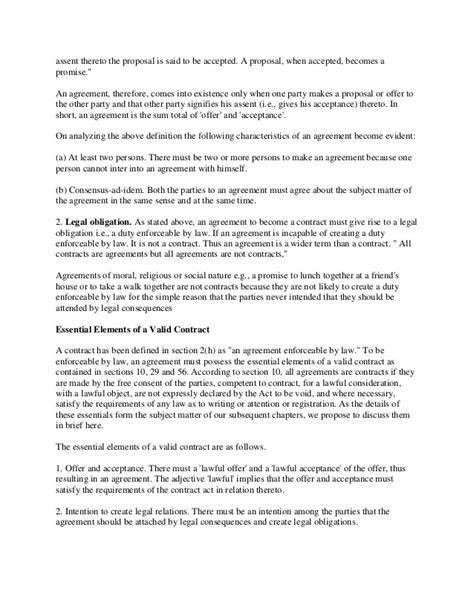 legally binding agreement template a contract is a legally binding agreement or relationship