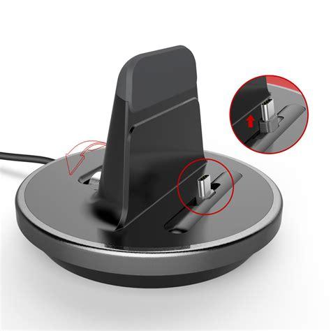 Charging Dock Usb 31 Type C Smartphone Black kidigi omni dock usb type c charger for phones lc utc