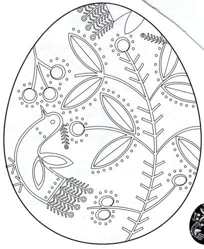 pysanky egg coloring page pysanky coloring pages google search easter eggs